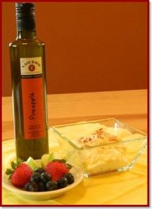 Sounds different! I love their other olive oils and vinegars, but have never used this one.