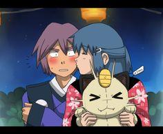 Prize :: Ikarishipping by on DeviantArt Pokemon Pocket, Pokemon Fan, Pokemon Couples, Anime Couples, Pikachu Drawing, Catch Em All, Fun Comics, New Kids, Digimon