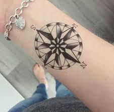 Bildergebnis für Kompass Tattoo