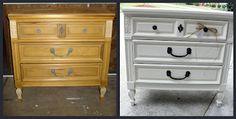 Before Meets After: 3 drawer dresser