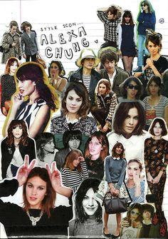 Alexa Chung: a style icon.