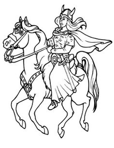 homeschooling in a bilingual home viking tales coloring pages