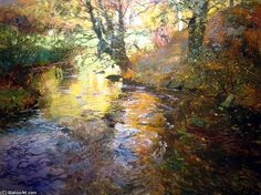 Frits Thaulow  At Quimperle  |  (, artwork, reproduction, copy, painting).