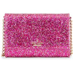 kate spade new york glitter bug cami crossbody bag (€84) ❤ liked on Polyvore featuring bags, handbags, shoulder bags, purses, clutches, kate spade shoulder bag, shoulder handbags, handbags & purses, handbags crossbody and red patent leather handbag