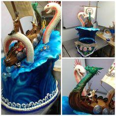 Viking Cake : Complete by The-EvIl-Plankton on DeviantArt