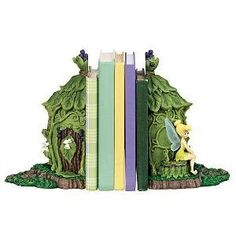 Disney Set of 2 Tink Fairies Bookends Tinker Bell Tinkerbell Office Book Ends by Disney, http://www.amazon.com/dp/B0010X6AG4/ref=cm_sw_r_pi_dp_AsaQpb02CS10F