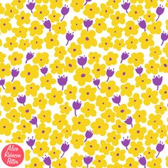 Kennt ihr die Pattern of the Week? Hier z.B. Spring Flowers by Alice Potter