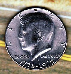 Bu Gem Nice Us  1976 D Kennedy Half  Dollar Free S/h & Insurance In USA 2/23 x3