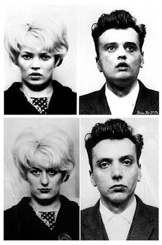Myra Hindley and Ian Brady by kate and pete