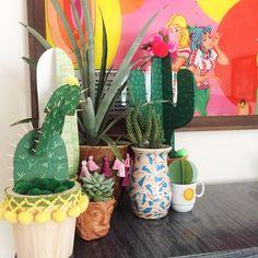 Cardboard Cactus - D