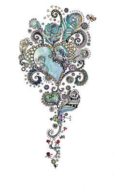 beautiful detail by Hannah Davies of Hannah Designs
