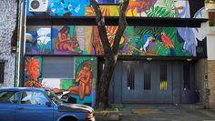 ¿Qué cuentan los nuevos murales que sorprenden a los vecinos de Belgrano?