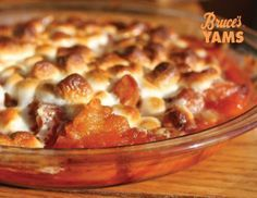 Share Tweet + 1 Mail Ingredients: 1 (29 ounce) can Bruce's cut yams, drained and mashed 1/4 cup brown sugar 1/2 teaspoon salt 1 ...