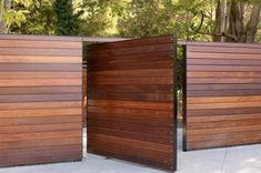 Most Inspirational Redwood Fence Designs Ideas To .- am meisten inspirierende Redwood Zaun Designs Ideen, um Ihren Hof Stil – Wohn Design Most Inspirational Redwood Fence Designs Ideas to Style Your Yard - Modern Wood Fence, Wood Fence Design, Modern Fence Design, Privacy Fence Designs, Wooden Fences, Wood Fence Gates, Rail Fence, Metal Fence, Dog Fence