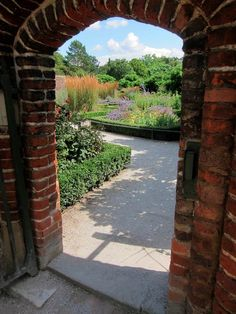 The garden at Fulham Palace, London. For over a thousand years the Bishops of London lived here until 1975.  By the Gentle Author at the Spitalfields Life blog.