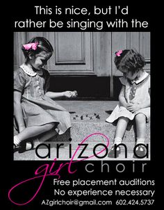 Sing with the Arizona Girlchoir!