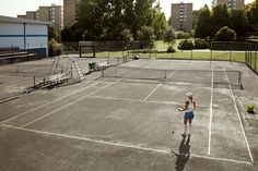 Photographer Daniel Griffel - Play together, tennis
