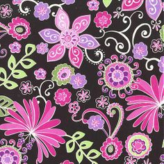 M.Miller - Contemporary florals,Boho Blossom(100%bavlna) Butterfly Flowers, Floral Flowers, Butterflies, Michael Miller Fabric, Fabulous Fabrics, Color Of The Year, Pantone Color, Purple, Pink