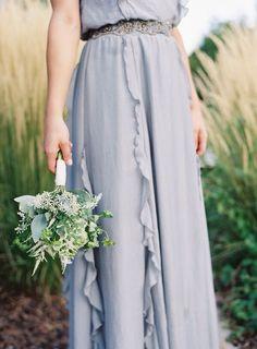 Glacier gray wedding