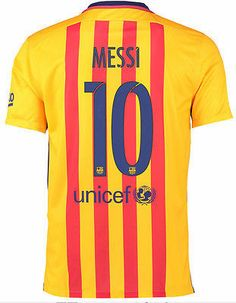 Nike lionel messi fc barcelona away jersey 2015 16 385fa48ab