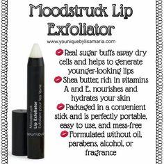 Younique Moodstruck Lip Exfoliator www.youniqueproducts.com/VickiRoss