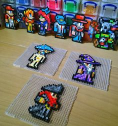 Terraria characters Perler Magnets