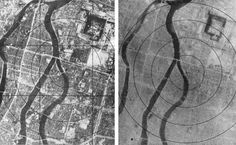 Hiroshima before and after the Atomic bomb blast in August 1945 History In Pictures (@HistoryInPics) | Twitter
