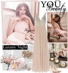"""Luxury Night"" by lara88 ❤ liked on Polyvore"