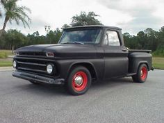 66 Chevy.  Learned to drive in this truck.  Only this one is wayyy nicer.  :-)