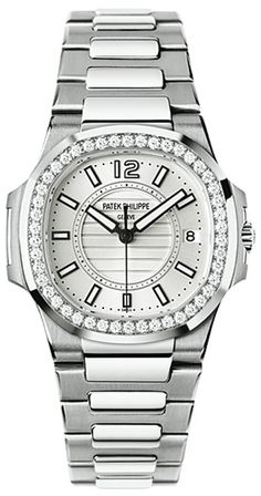 Patek Philippe [NEW] Nautilus Ladies Watch 7010/1G-011 (Retail:HK$331,000) - Just For You at:- HK$283,000.