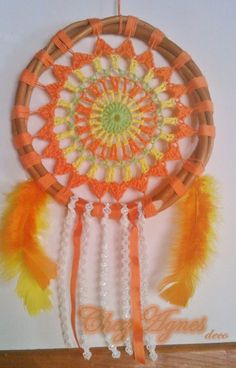 Mandala O Atrapasueños Regalo Souvenir Decoración Crochet - $ 60,00 en MercadoLibre