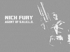 Nick Fury, Agent of SHIELD wallpaper (Marvel)