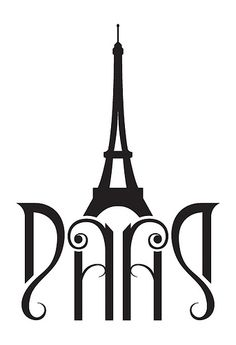I like the typography in this piece but I also like how it forms into the Eiffel tower as well.