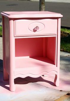 Trash to Treasure:  Adorable Dresser Makeover