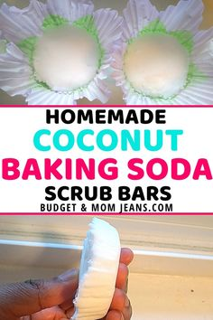 With the air becoming very dry as we approach the Fall season, these homemade coconut baking soda scrub bars will work wonders in terms of exfoliation and moisture-lock. Like other homemade body scrubs, this exfoliant is budget-friendly. #bakingsodascrub #diybakingsodascrub #bakingsodascrubbars #diyscrubbars #diyskincare #homespa #selfcare Baking Soda Coconut Oil, Coconut Oil Scrub, Baking Soda Scrub, Exfoliating Body Scrub Diy, Diy Body Scrub, Diy Scrub, Sugar Scrub Diy, Sugar Scrubs, Frugal Tips