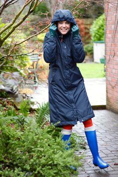 Welly Weather! | Storm Wear, Cobalt and Orange.
