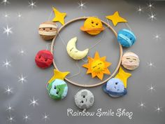 Baby mobile Solar system mobile Space nursery mobile Planets Baby Crib Mobile Baby boy mobile Handing mobile Space Nursery Decor Felt mobile by Rainbowsmileshop on Etsy https://www.etsy.com/listing/574752810/baby-mobile-solar-system-mobile-space