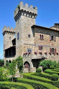 Castello di Panzano ~ Chianti region, Italy