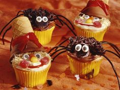 I don't know about how good the recipe would be, but those scare crows are ADORABLE!!