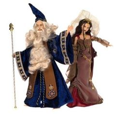 Barbie Magic & Mystery Collection; Merlin and Morgan le Fay Doll Set