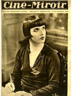 Louise Brooks magazine cover Paris 1930