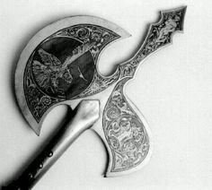 Vintage battle axe