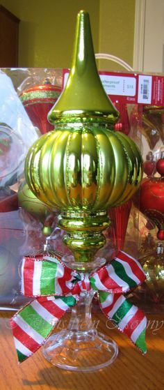 Dollar Friendly Christmas Decoration Tutorial | best stuff