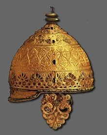 Ceremonial Celtic Helmet from III century BC Gaul (Agris-Charente France)