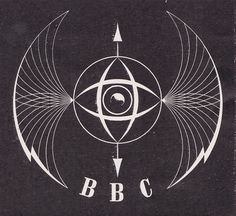 BBC TV ident 'emblem' designed by Abram Games, c1955 - I'm head over heels with this 1955 BBC logo. I love de idea of creating symbolic logos and this one uses imagery that conveys a profound mood. It is clean, while intricate and the grunge in both the logo and the background add an element of informality.