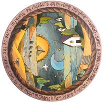 We are pleased to offer FREE shipping on all Sticks items.   We have been a leading Sticks gallery for over 12 years.  Let us help you to make an heirloom for your family.  We love functional artwork, and it just doesn't get any better than a Lazy Susan from Sticks. They make the perfect gift a...