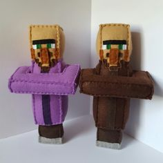 A priest and farmer villager going to their new homes.