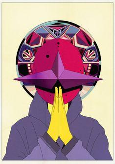 Killian Eng is mah fav. Graphics, Horror, Illustration, Kilian Eng, Psychedelic, Sci-Fi