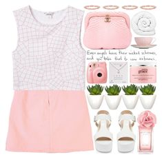 """""""Sad Beautiful Tragic"""" by heartart ❤ liked on Polyvore featuring GUESS, Monki, Forever New, Tommy Hilfiger, philosophy, Brinkhaus, Pomax, Dogeared, Chanel and Wedgwood"""