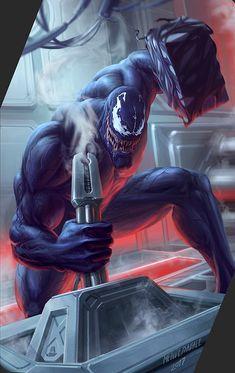 Amaing Marvel Wallpapers – Ozge's Wallpapers Marvel Venom, Marvel Villains, Marvel Comics Art, Marvel Comic Universe, Marvel Vs, Marvel Characters, Marvel Heroes, Venom Comics, Amazing Spiderman